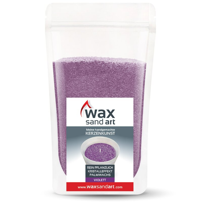 kerzensand-waxsandart-500-gramm-violett-mit-duft-lavendel-inkl-dochte